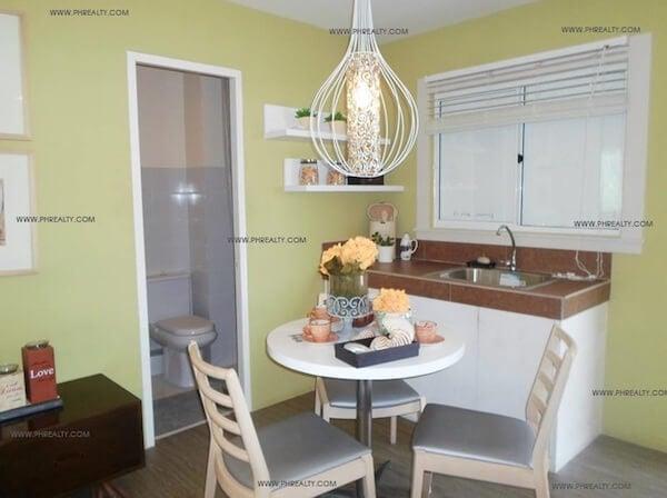 One Spatial Condos - Dining Area