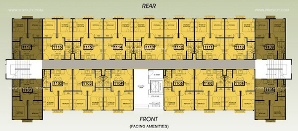 One Spatial Condos - Floor Plan