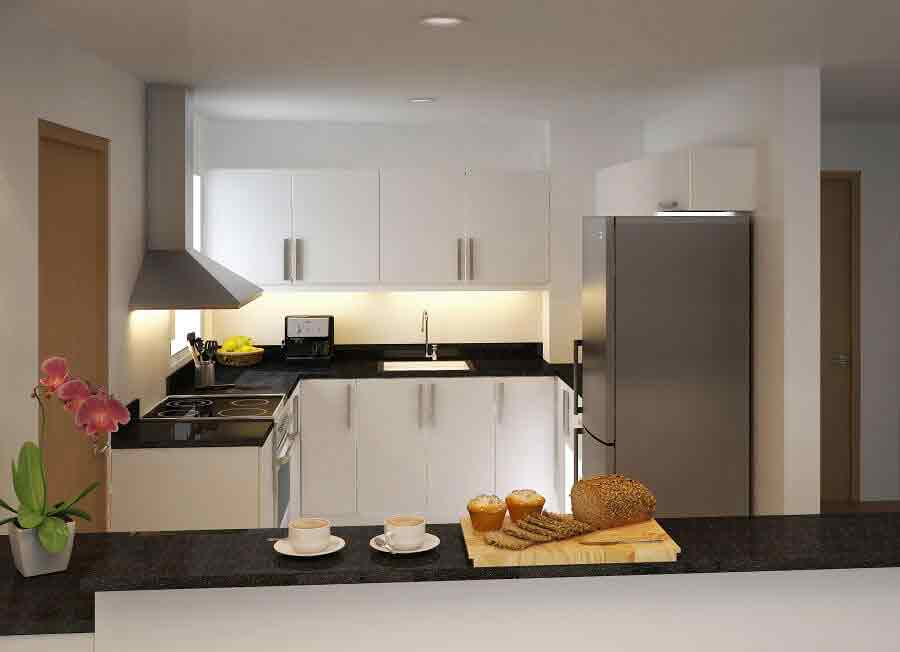 1016 Residences - Kitchen