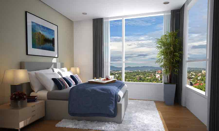 1016 Residences - Masters Bedroom