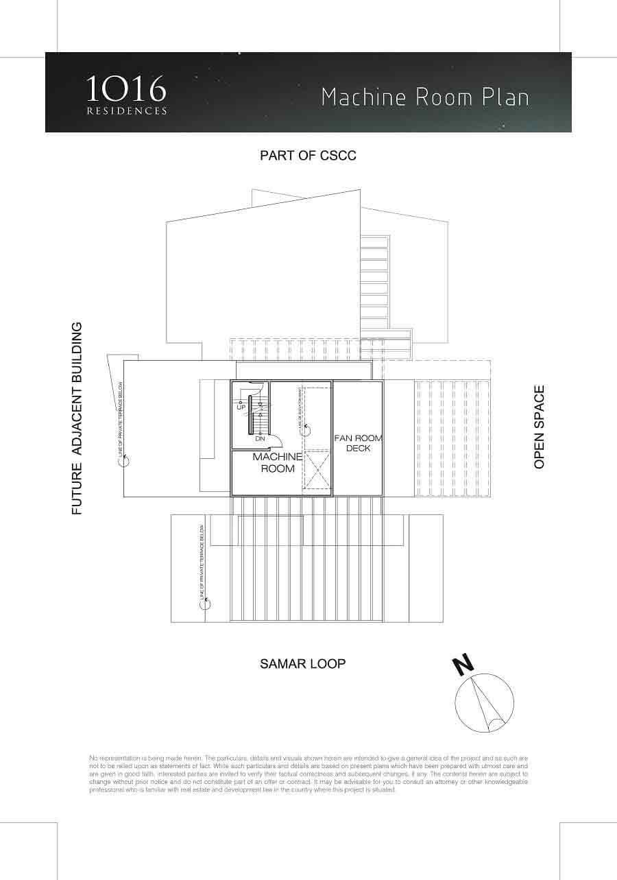 1016 Residences - Machine Room Plan