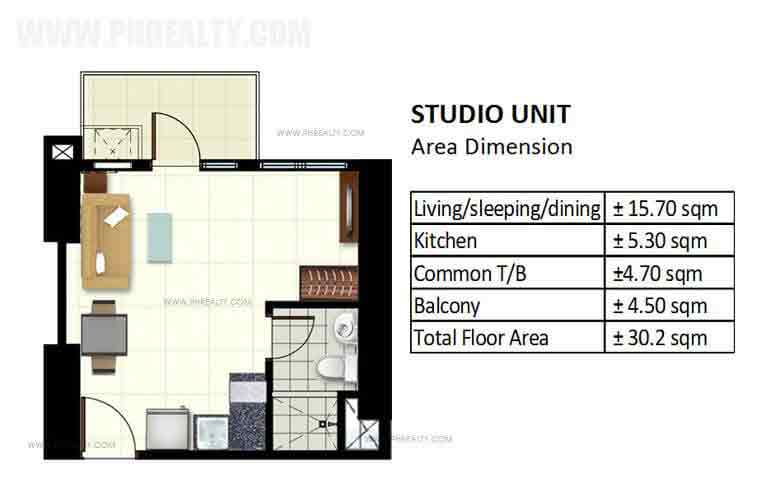 Azalea Place - Studio Unit