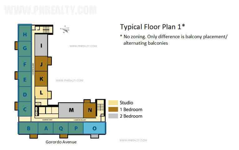 Azalea Place - Floor Plan 1