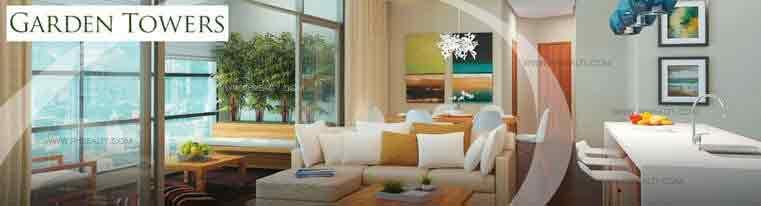 Garden Towers - Living Room