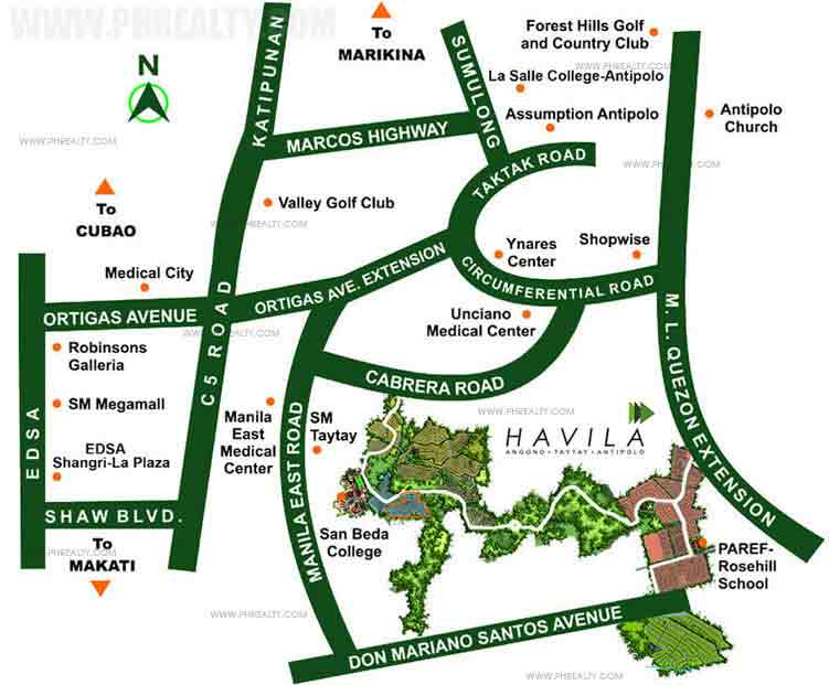 Mission Hills - Location