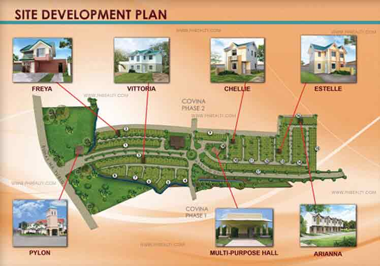 Covina Villas - Site Development Plan