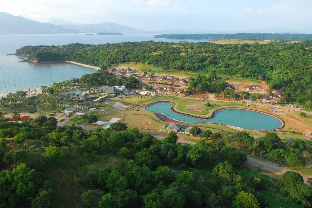 Anvaya Cove - Aerial View