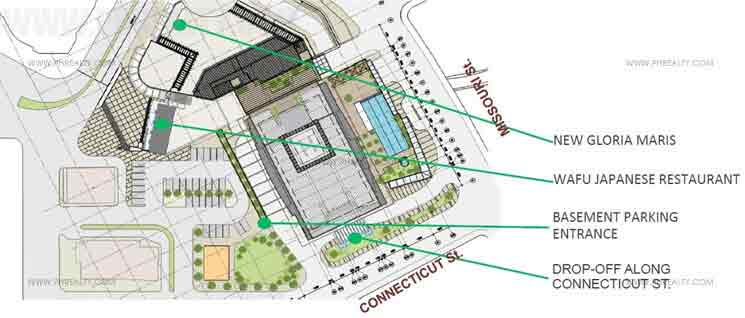 The Viridian At Greenhills - Site Development Plan