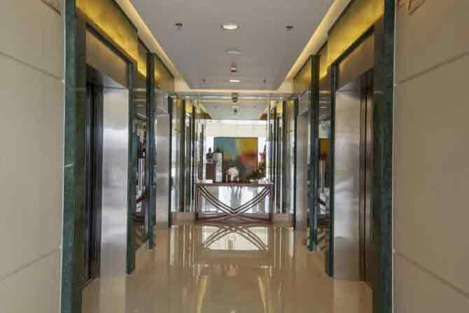 Axis Residences - Elevator Lobby