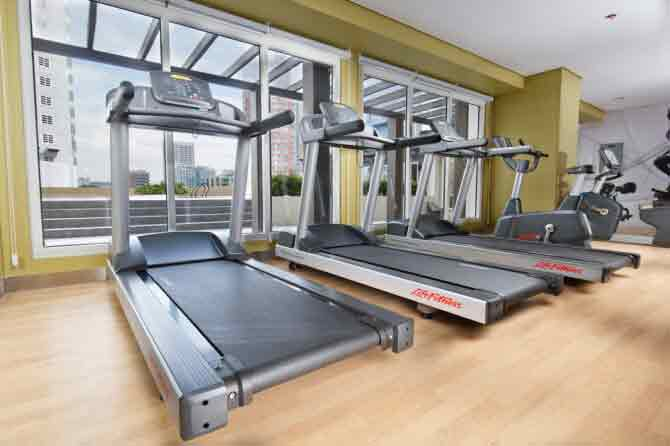 Axis Residences - Fitness Center