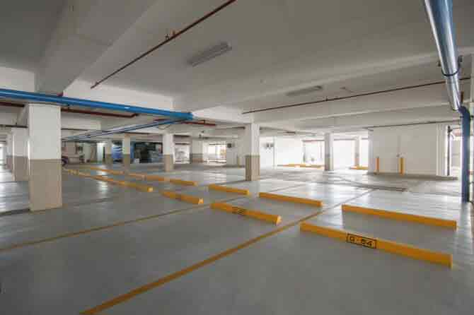 Axis Residences - Parking Area