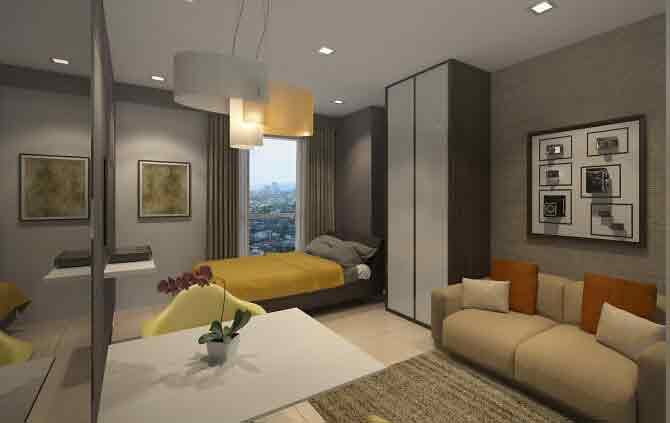 Axis Residences - Studio Unit