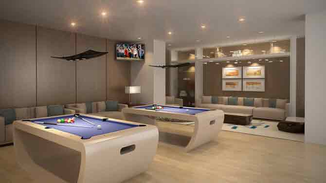 Axis Residences - Game Room