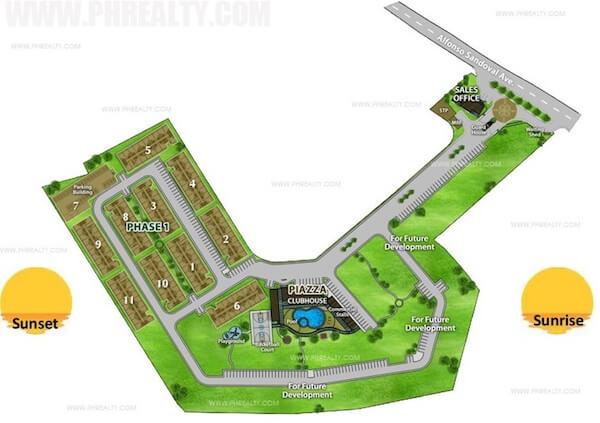 Arezzo Place - Building Plan