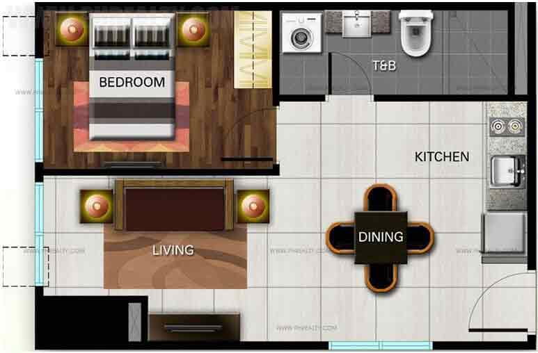 The Olive Place - One Bedroom Unit