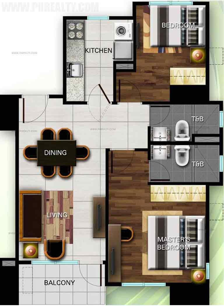 The Olive Place - 2 Bedroom Unit