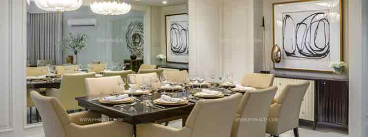 Arya Residences - Dining Room
