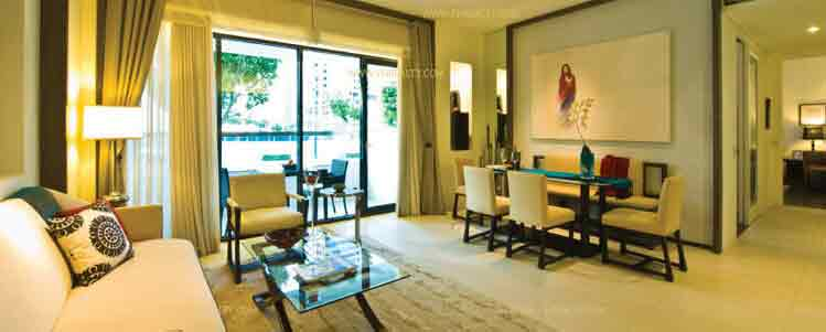 Arya Residences - Living Room