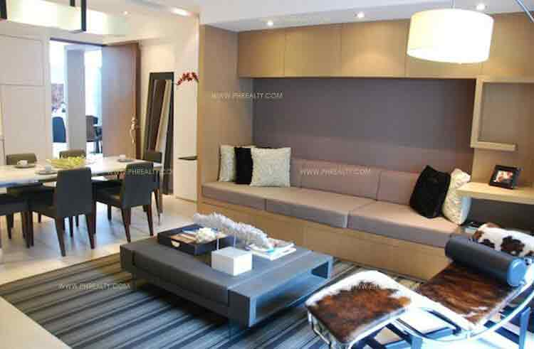 Arya Residences - Living and Dining Area