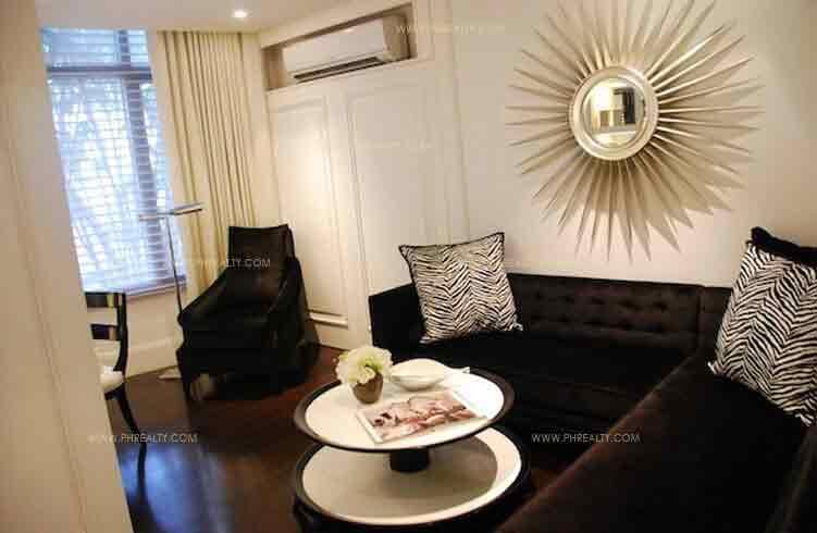 Arya Residences - Living Room