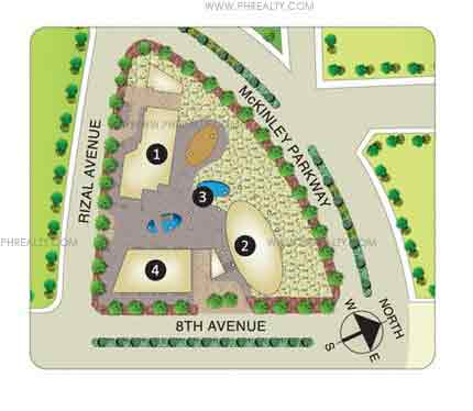 Arya Residences - Site Development Plan