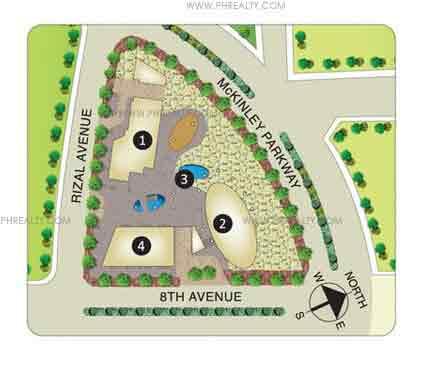 Arya Residences - Site Development Plan