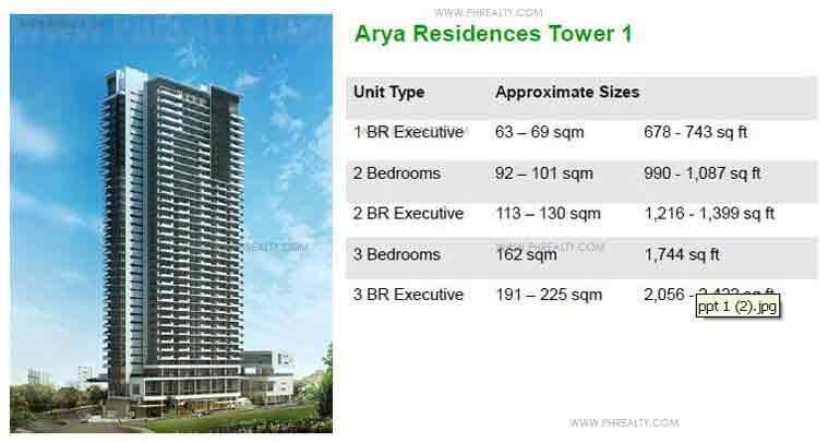 Arya Residences - Arya Residences Tower