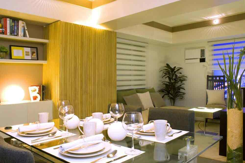Avida Towers Centera  - Dining and Living