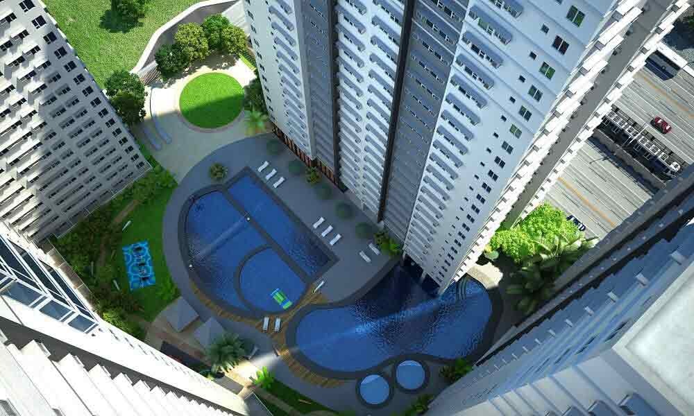 Avida Towers Centera  - Amenity Aerial