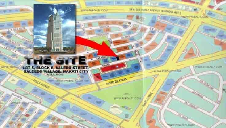 Valero Grand Suites - Location Map