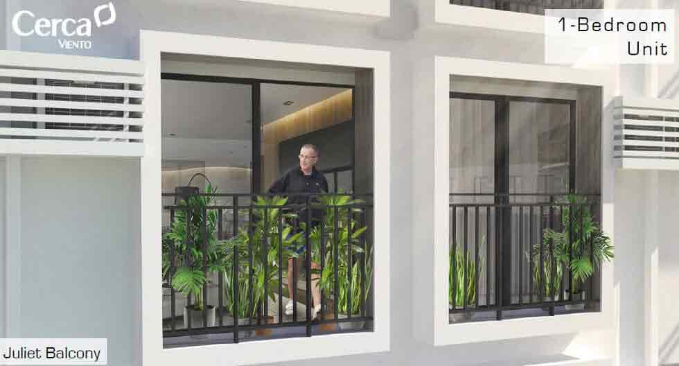 Cerca Alabang - Balcony
