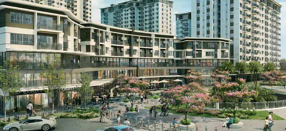 Cerca Alabang - Pedestrian Open Spaces