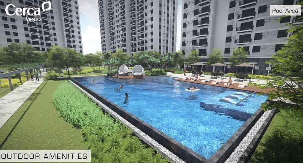 Cerca Alabang - Pool Area