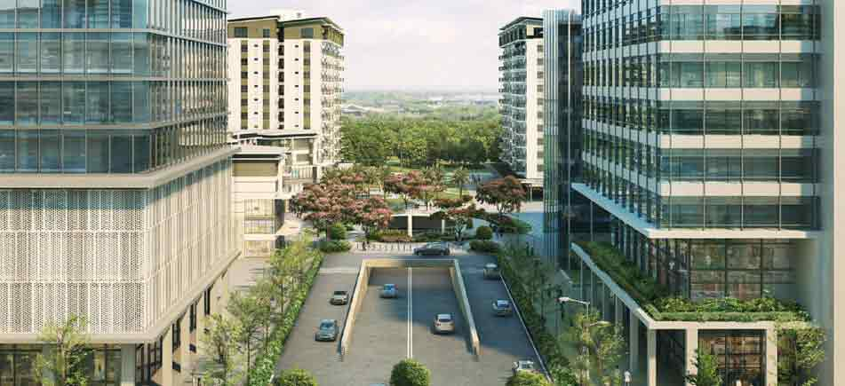 Cerca Alabang -  Drop off and Underground Car Access