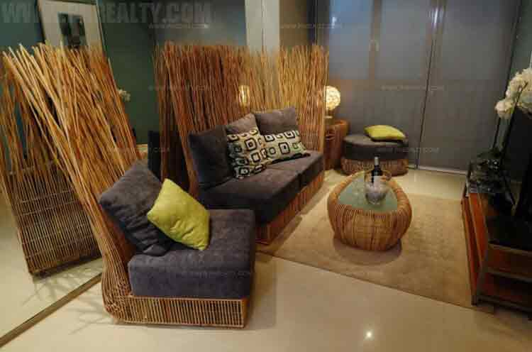 Signa Designer Residences - 1 BR Model Unit Living Room