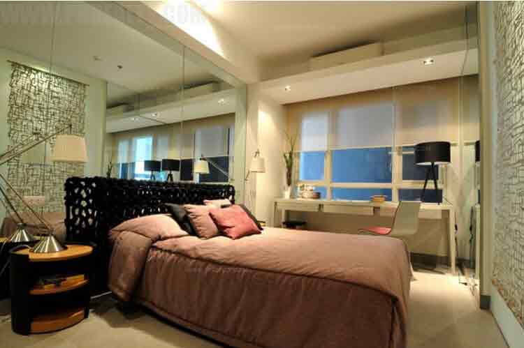 Signa Designer Residences - 1 BR Upgraded Model Unit Master Bedroom