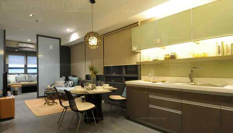 Signa Designer Residences - 2 BR Model Unit Dining