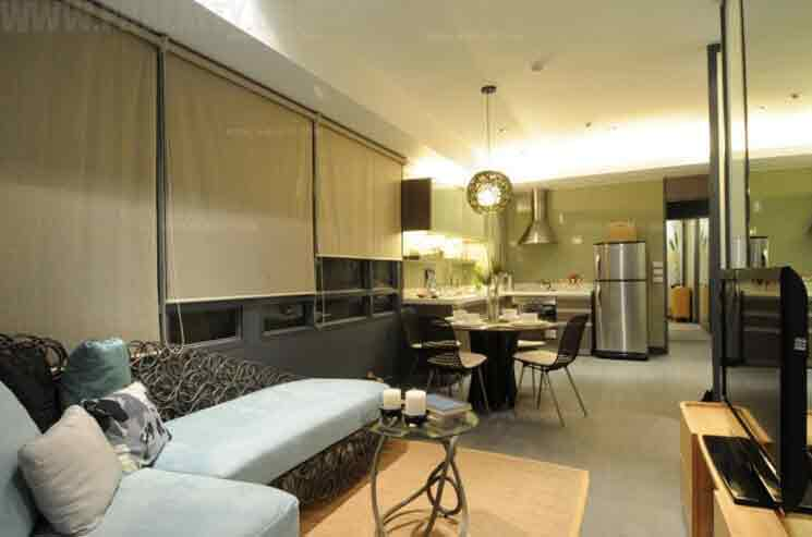 Signa Designer Residences - 2 BR Model Unit Living Room