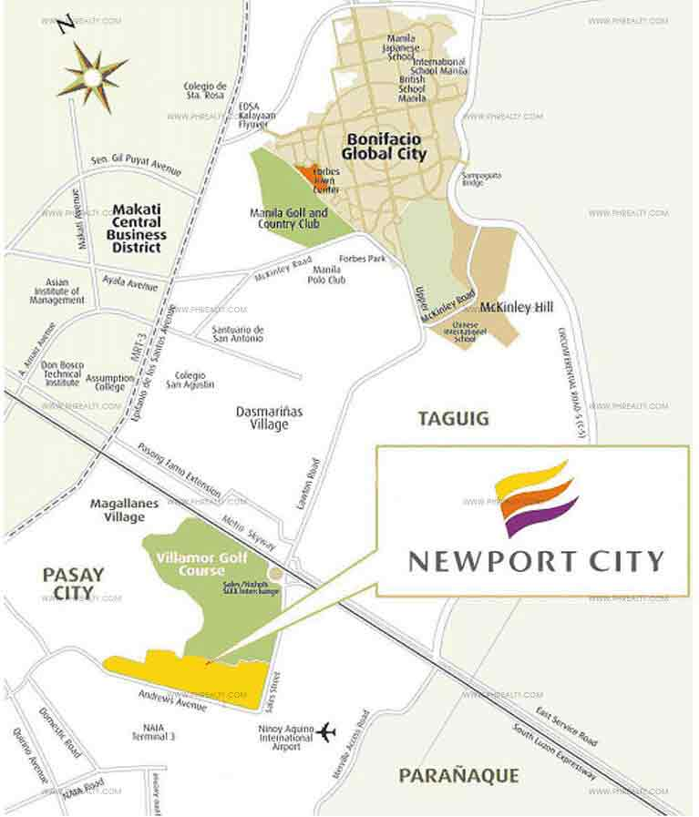 150 Newport Boulevard - Location Map