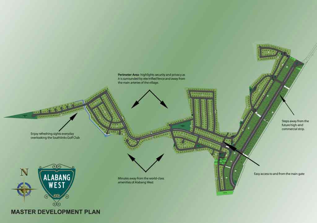 Alabang West - Site Development Plan
