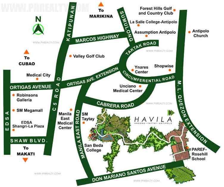 Anila Park - Location