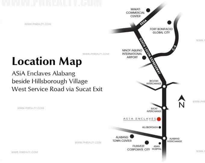 Asya Enclaves - Location