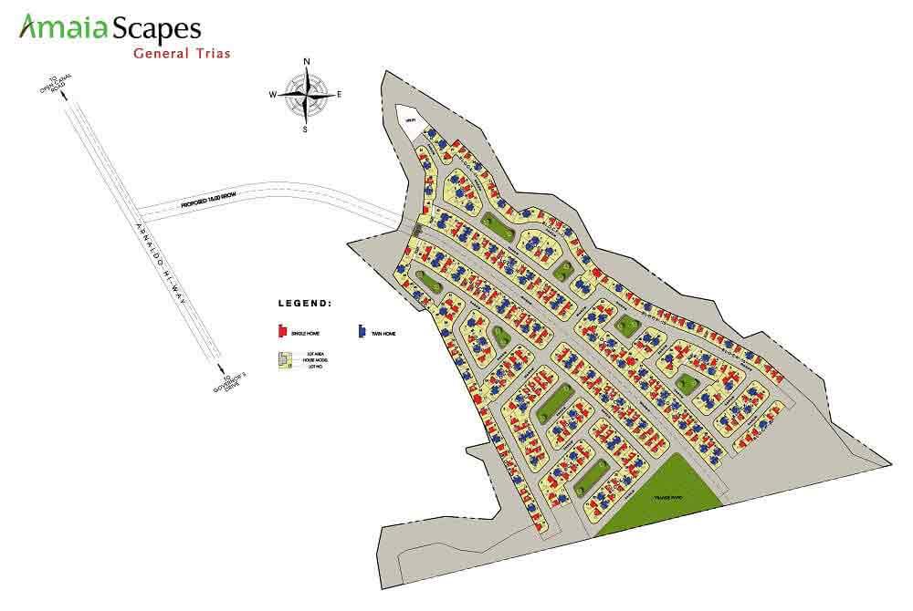 Amaia Scapes General Trias - Site Development Plan