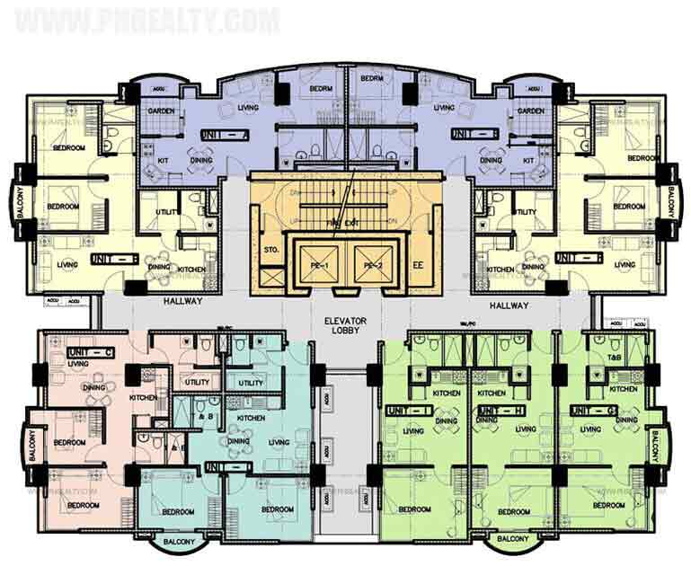 The Marfori - Typical Floor Plan