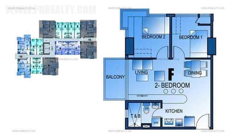 The Marfori - 2 Bedroom Unit