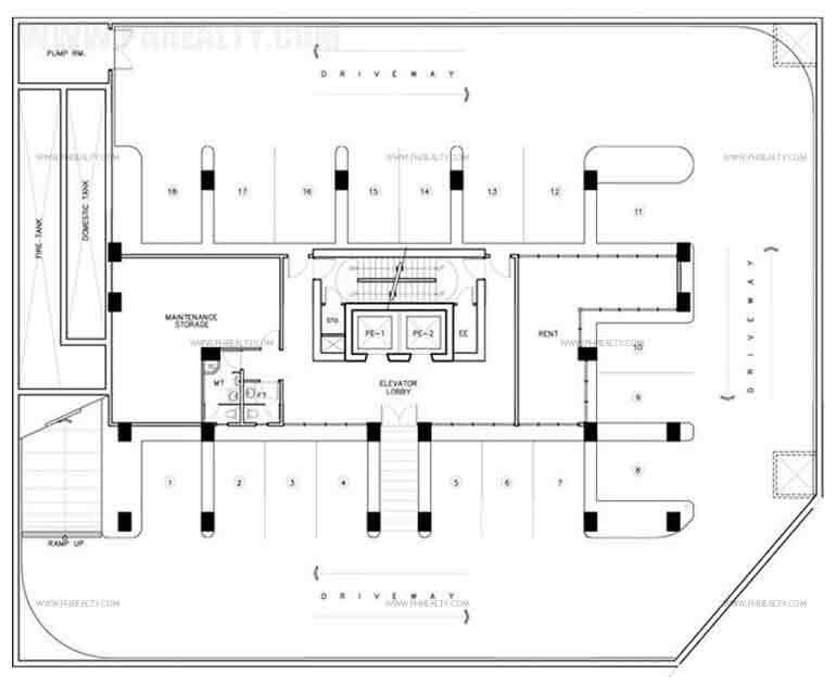 The Marfori - Floor Plan