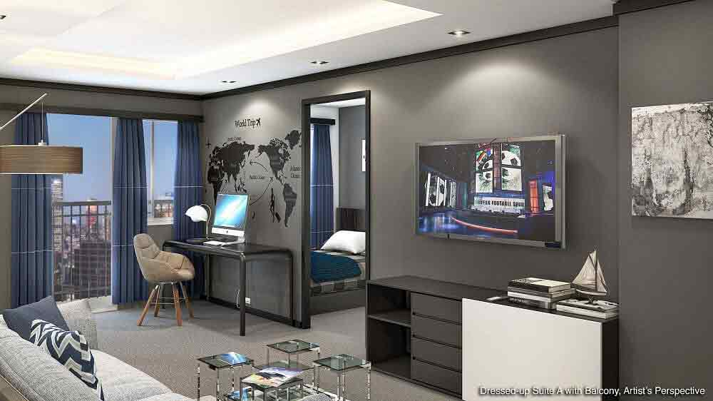 S Residences - Living Room