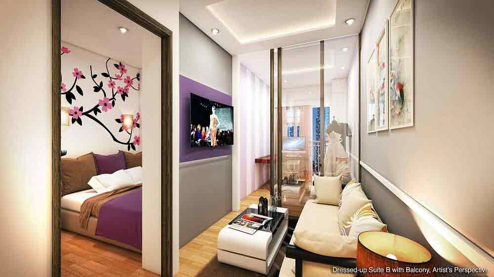 S Residences - Bedroom