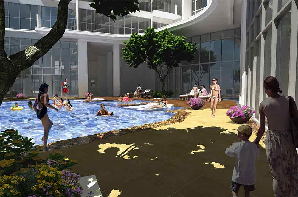 The Florence - Pool Area