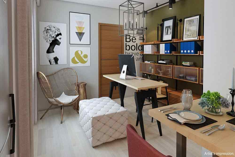 The Ellis Makati - Home Office